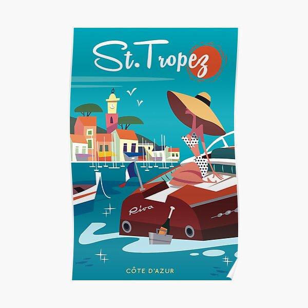 Affiche de Saint Tropez Poster