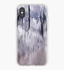 Silver devastation iPhone Case