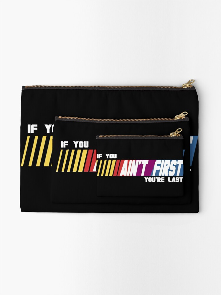 Alternate view of Last Place Zipper Pouch
