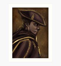 Haytham Kenway - Palette Challenge Art Print