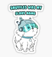 Rick and Morty - Snuffles T-shirt Sticker