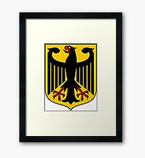 Germany Coat of Arms  Framed Print