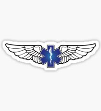 EMS Star of Life Wings Sticker
