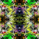 Symmetry Of Colour Abstract by Printpix