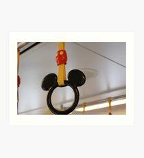 Mouse Handles Art Print