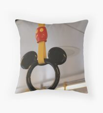 Mouse Handles Throw Pillow