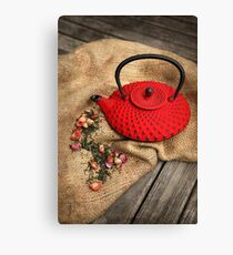 Red Pot Canvas Print