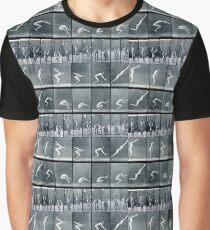Eadweard Muybridge - standing jump Graphic T-Shirt