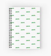 Psych Spiral Notebook