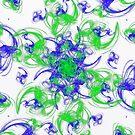 Symmetrical Swirl  by Printpix