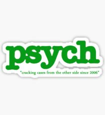 Psych Sticker