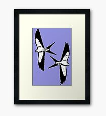 Wing it Framed Print