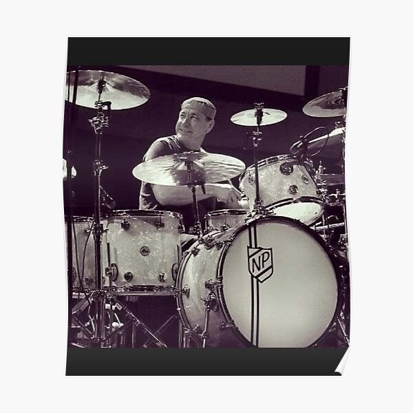 on Photo Paper//Canvas Canvas Poster Buddy Rich-Music-Drum-battery