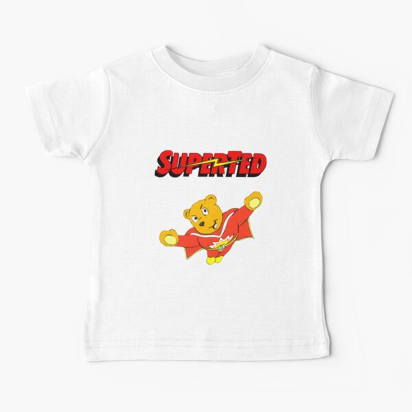 Superted cartoon Baby T-Shirt