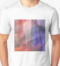 Fire And Ice Abstract Texture 2 T-Shirt