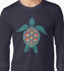Camiseta de manga larga Tortuga Mandala
