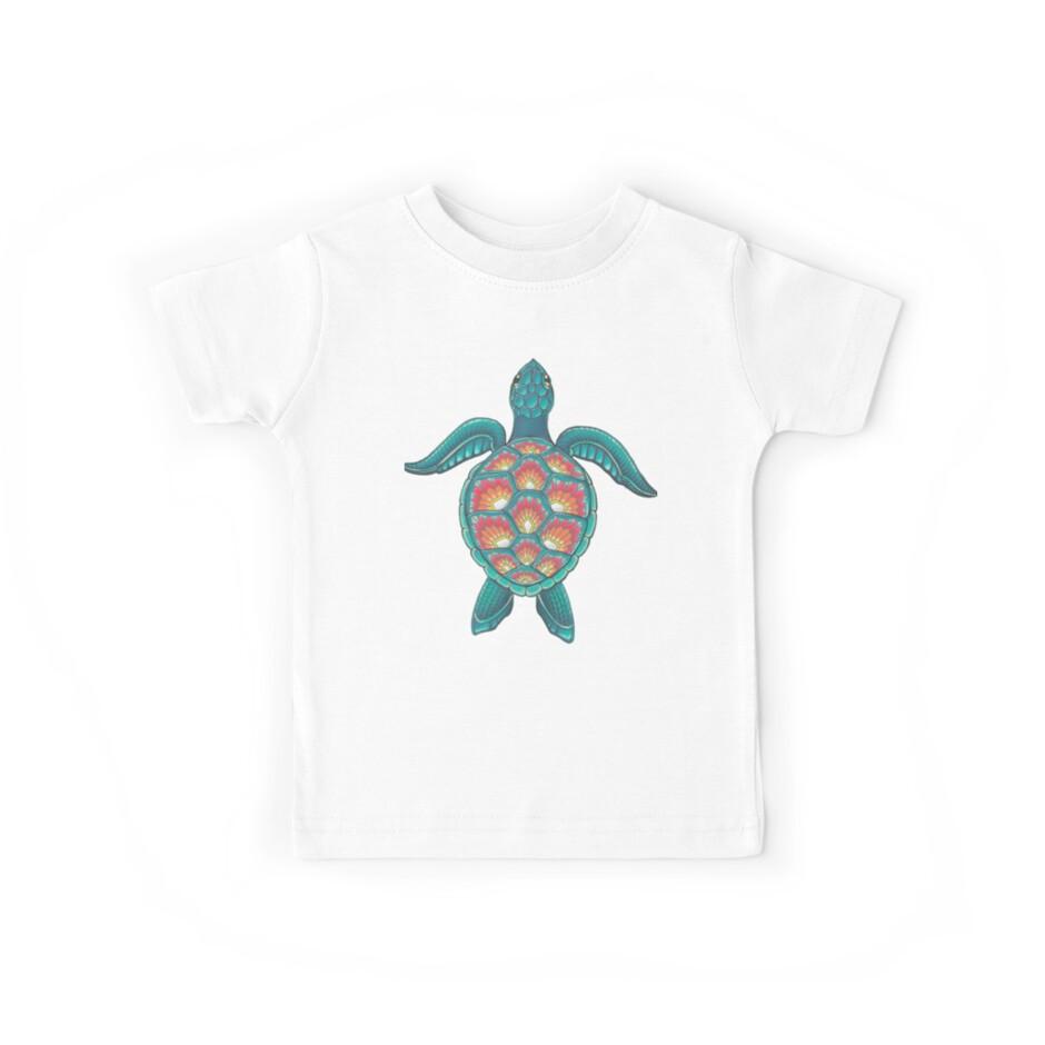 Mandala-Schildkröte von Theysaurus