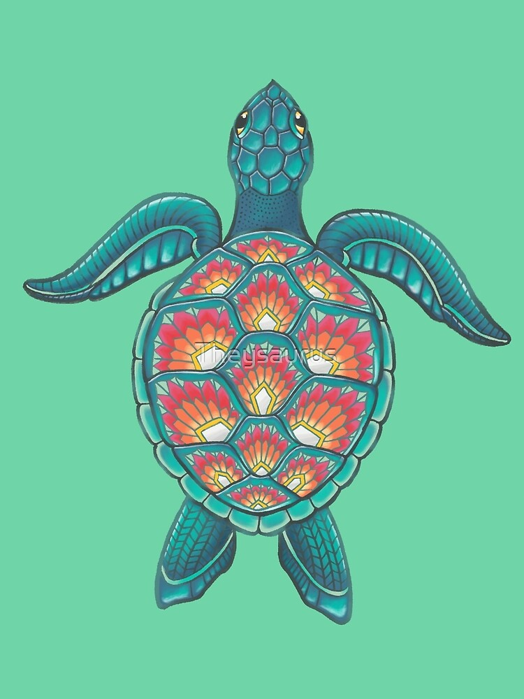 Mandala Turtle by Theysaurus