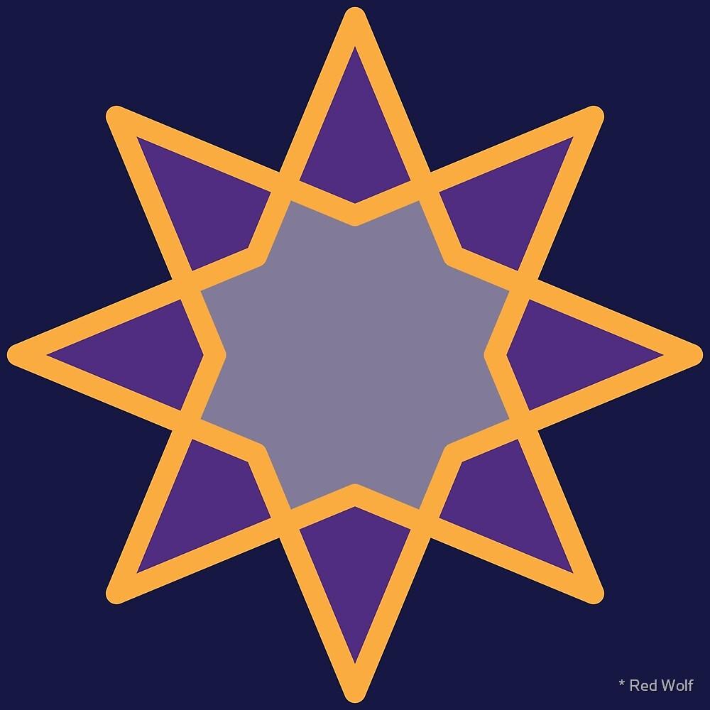 Geometric Pattern: Octagram: Streetlight by * Red Wolf