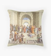 School of Athens Throw Pillow