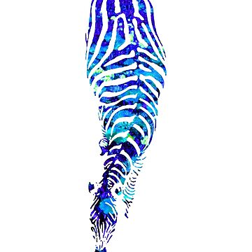 Abstract Zebra - version 1 by Supreto