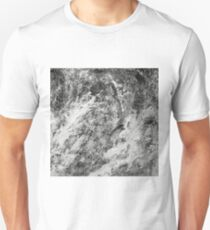 Black And White Tempest Abstract T-Shirt