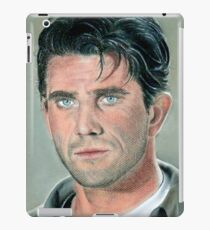 """hand drawing with pastels """"Mel Gibson"""" iPad Case/Skin"""