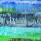Aqualand Abstract by Printpix