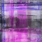 Purple And Blue Abstract by Printpix
