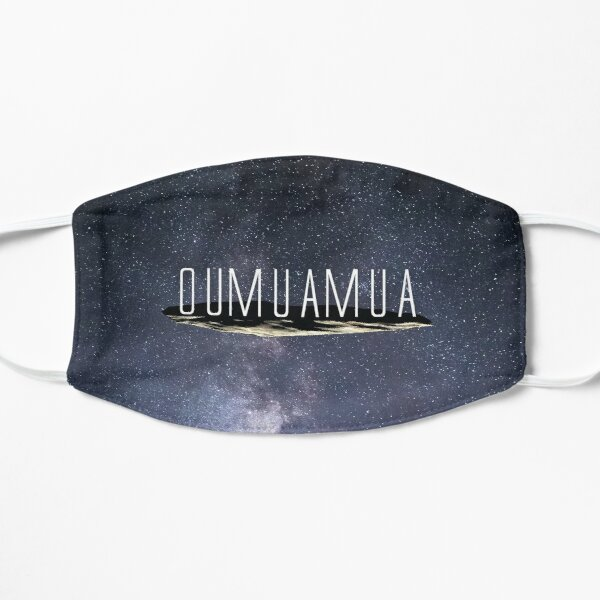 Visited by Oumuamua Flat Mask
