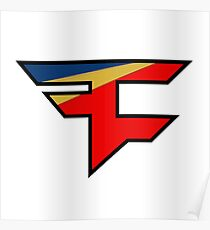 Official Faze Clan Logo Poster