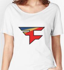 Official Faze Clan Logo Women's Relaxed Fit T-Shirt