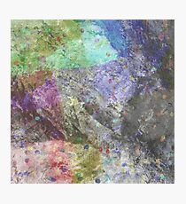 Multi Coloured Abstract Painting Photographic Print