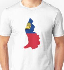 Flag of Liechtenstein  T-Shirt