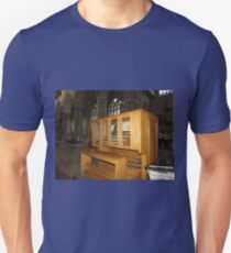 The Grand Organ Console, Exeter Cathedral T-Shirt