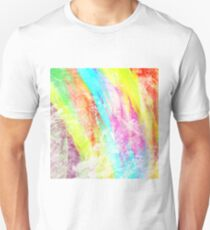 Abstract Rainbow #IX T-Shirt