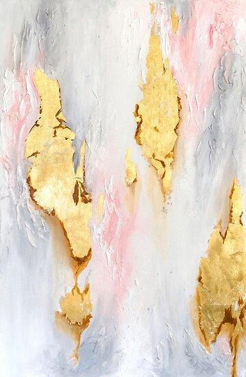 Goldmarmor von Christina Scamporrino