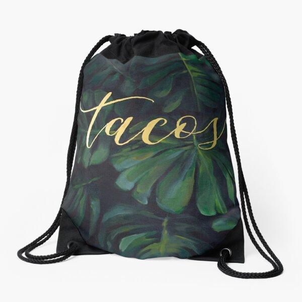 Tacos in the Tropics Drawstring Bag