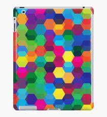 abstract geometric background iPad Case/Skin