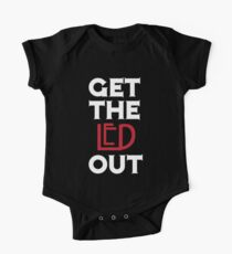 Get the Led Out One Piece - Short Sleeve