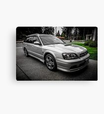 Quick Silver Twin Turbo Canvas Print