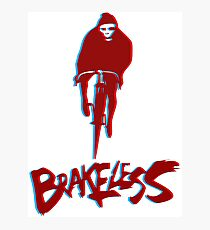 Brakeless Fixie/Fixed Gear 3D Photographic Print