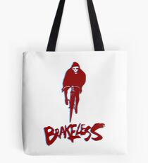 Brakeless Fixie/Fixed Gear 3D Tote Bag