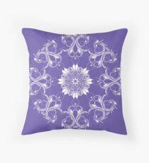Round stylish ornament.  Throw Pillow