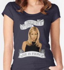 She Is Fierce Women's Fitted Scoop T-Shirt