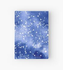Northern Star Map Hardcover Journal