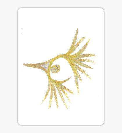 Featheredhead Sticker