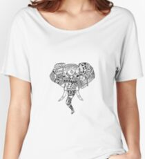 The Elephant in the Room  Women's Relaxed Fit T-Shirt