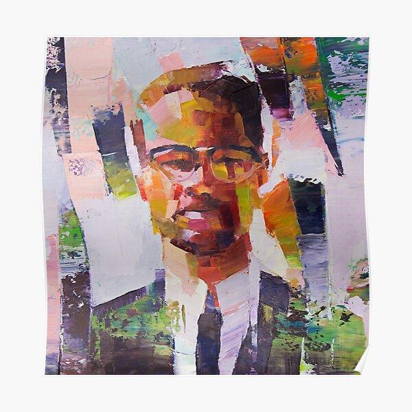 Malcolm X Art Poster
