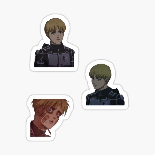 Armin Arlert Season 4 Sticker
